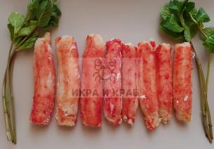 Мясо камчатского краба в/м, 1-я фаланга 6-8 см