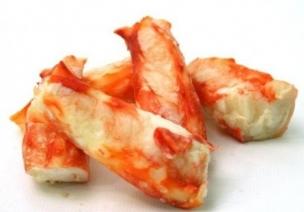 Мясо Камчатского краба в/м, Колено